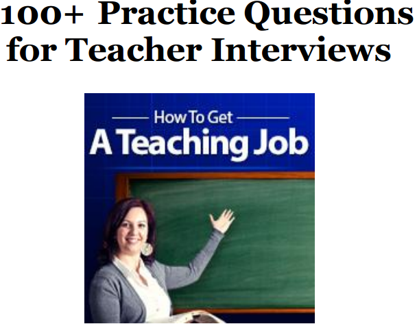 how to prepare for a teaching job interview